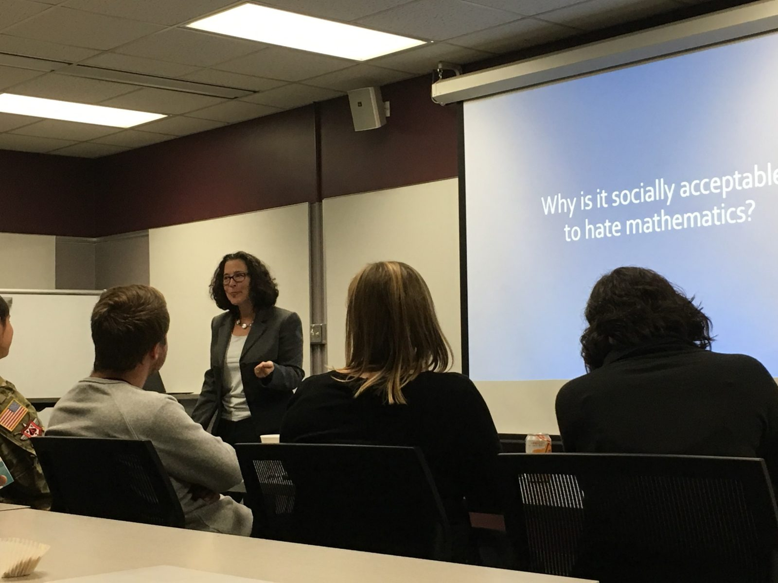 More photos from Dr. Levys' talk on October 22nd